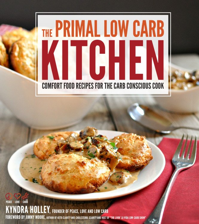 The Primal Low Carb Kitchen Cookbook - 85 Low Carb, Primal, Gluten Free Recipes