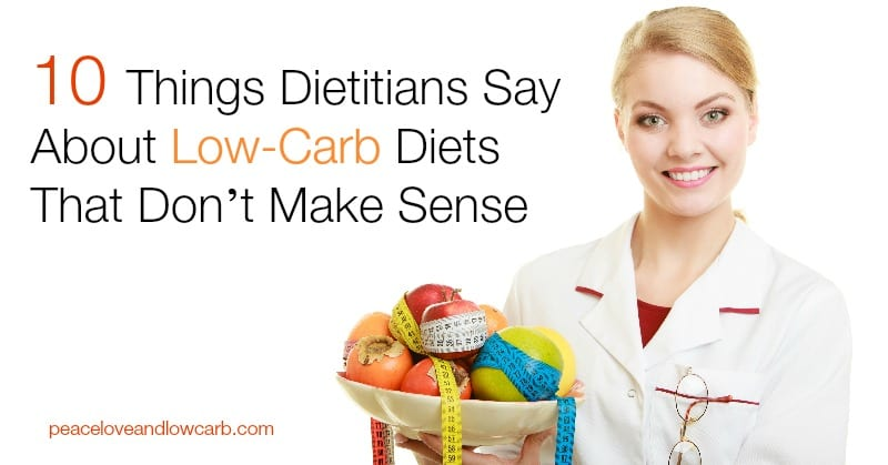 10 Things Dietitians Say About Low-Carb Diets That Don't Make Sense