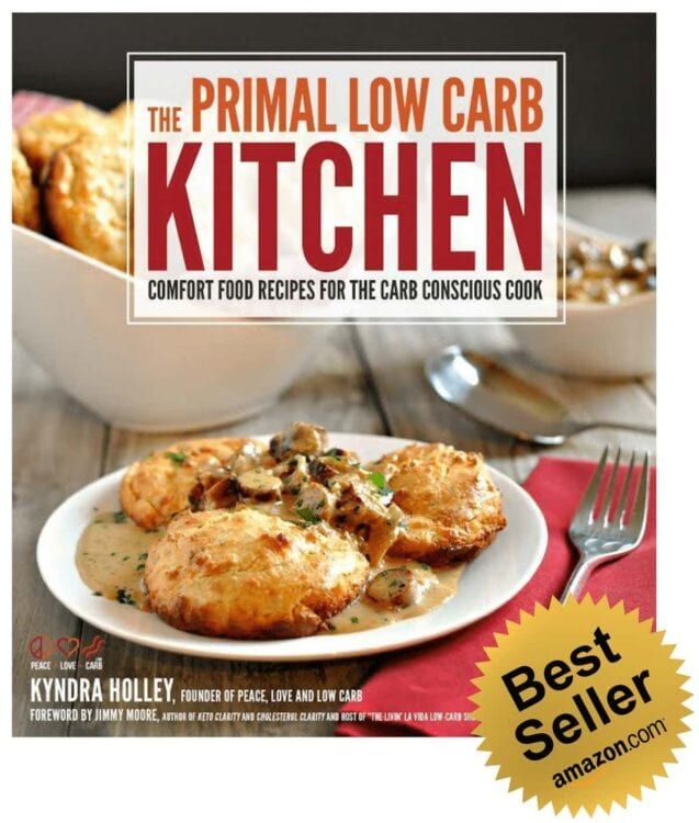 The Primal Low Carb Kitchen Cookbook - Amazon #1 Best Seller
