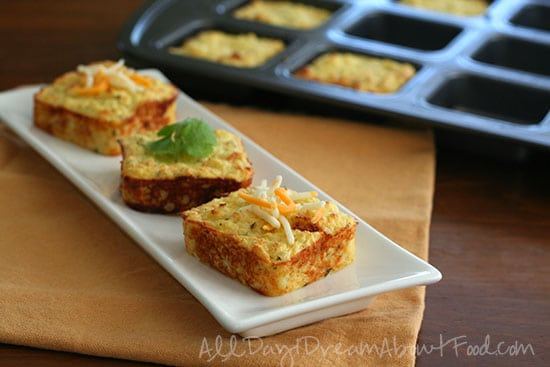 Cheesy Cauliflower Puffs - 20 Low Carb and Gluten Free Cauliflower Rice Recipes   Peace Love and Low Carb
