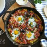 Italian Spaghetti Squash Breakfast Casserole - Low Carb, Gluten Free, Paleo | Peace Love and Low Carb