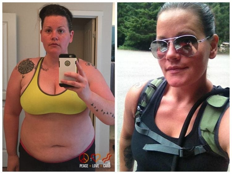 After and Before - Starting Over | Peace Love and Low Carb