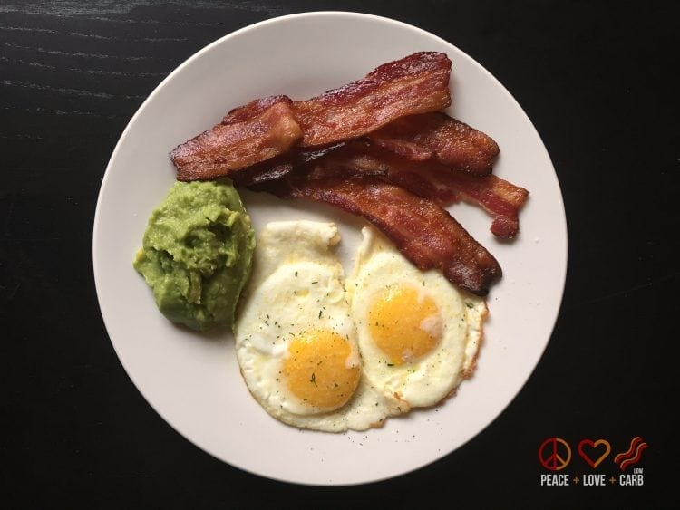 Breakfast Day 3 - My 100 Pound Journey   Peace Love and Low Carb