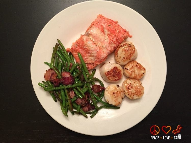 Dinner Day 6 - My 100 Pound Journey | Peace Love and Low Carb