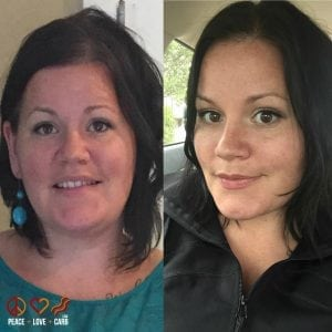 Face to Face Friday Transformation - Peace Love and Low Carb