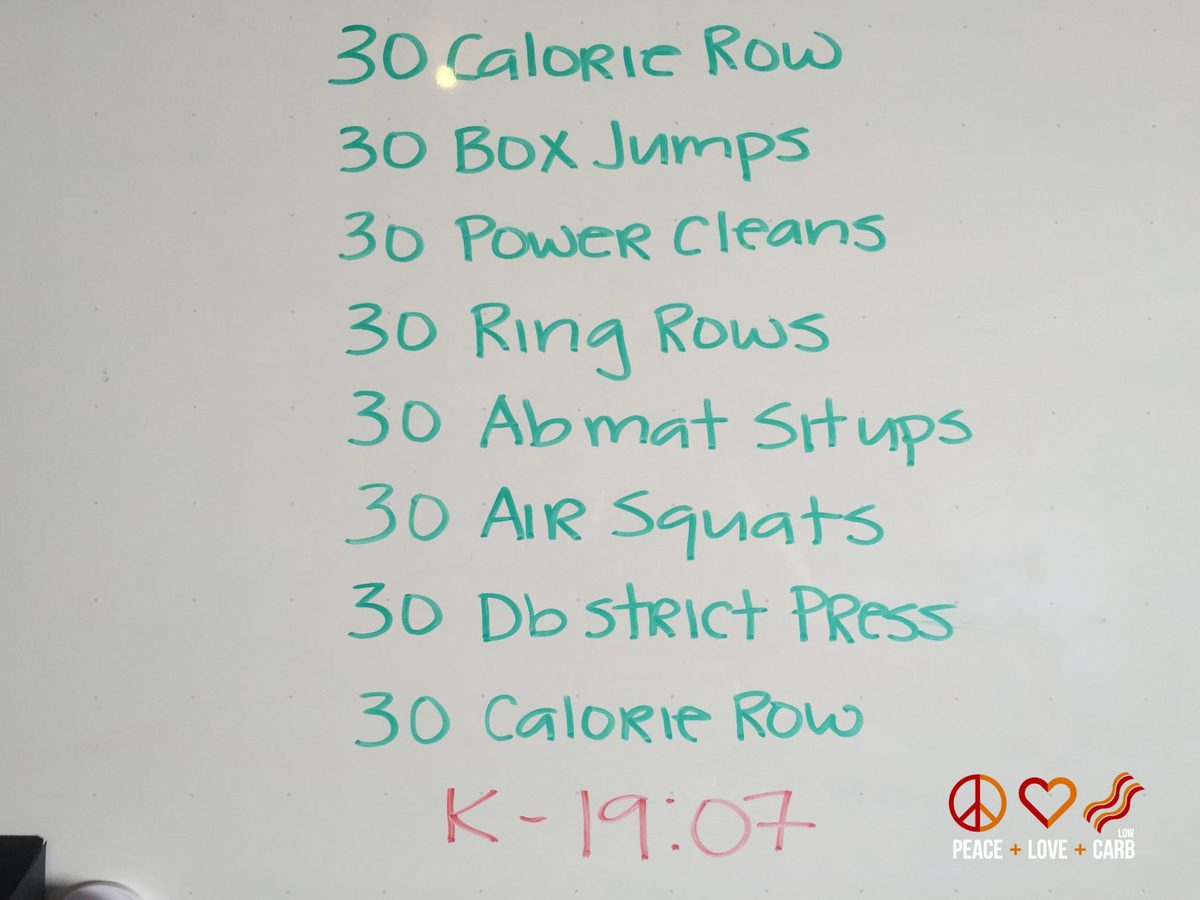 My own Dirty 30 Workout - Day 30 of My 100 Pound Journey - Peace Love and Low Carb