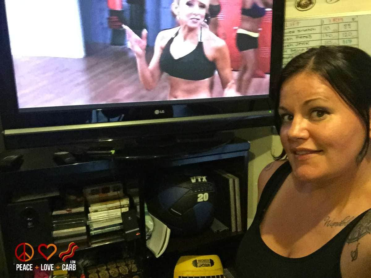 Turbo Fire Workout - My 100 Pound Journey   Peace Love and Low Carb
