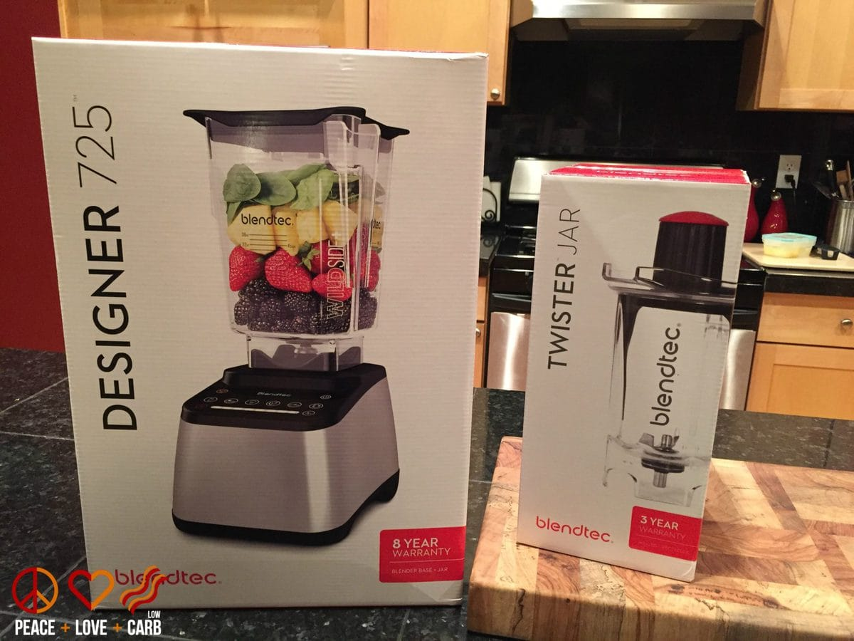 Blendtec 725 Blender | Peace Love and Low Carb