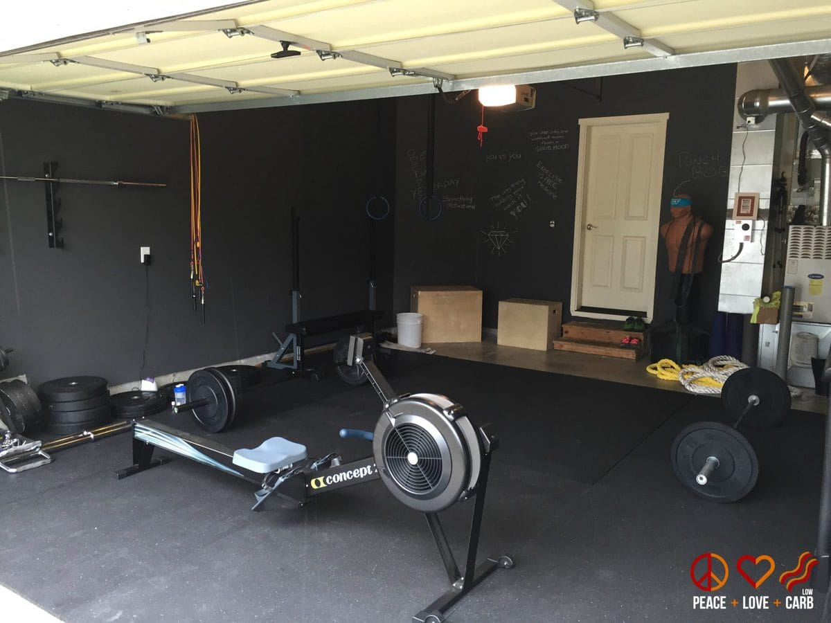 Our Home Gym | Peace Love and Low Carb