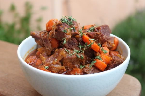Pressure Cooker Beef Stew - Low Carb Pressure Cooker Round Up | Peace Love and Low Carb