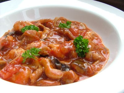 Pressure Cooker Chicken Cacciatore - Low Carb Pressure Cooker Round Up | Peace Love and Low Carb