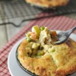 Chicken Pot Pie - Low Carb and Gluten Free | Peace Love and Low Carb