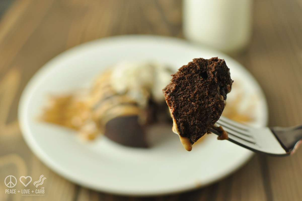 Low Carb Flourless Chocolate Peanut Butter Cake