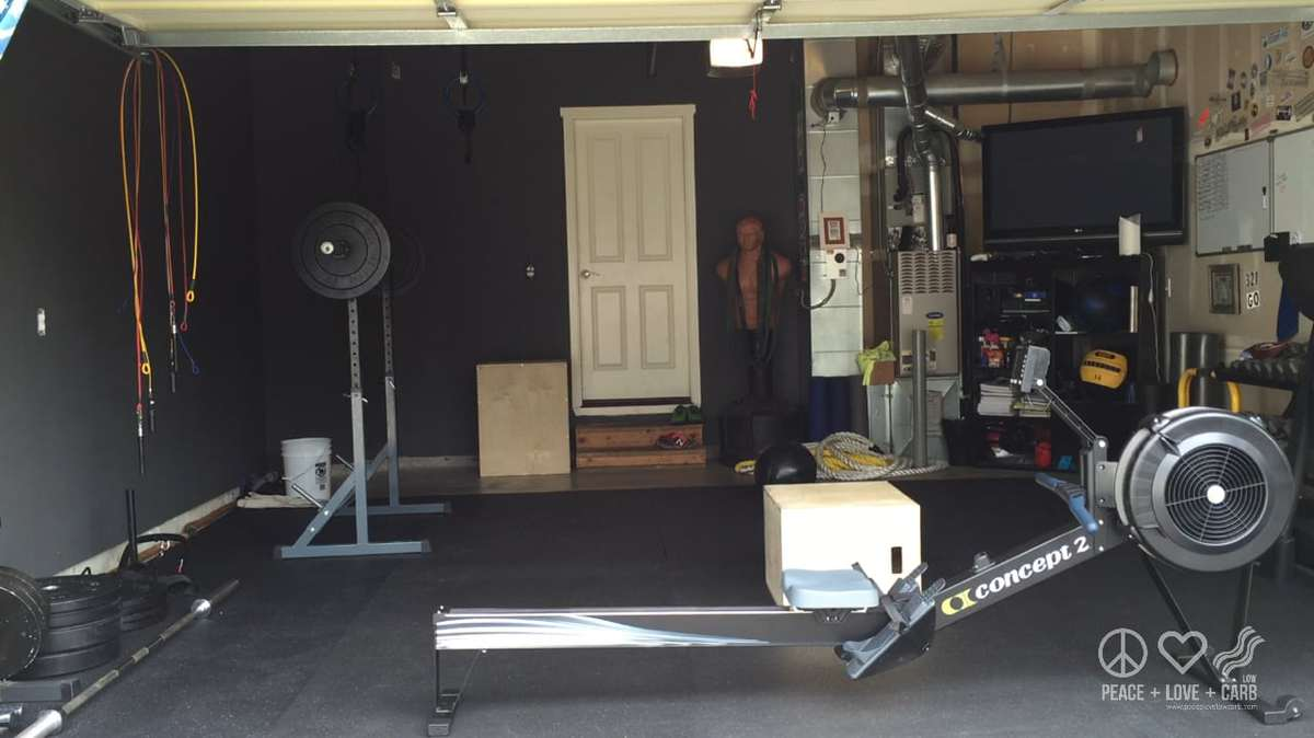 My home gym - Peace Love and Low Carb