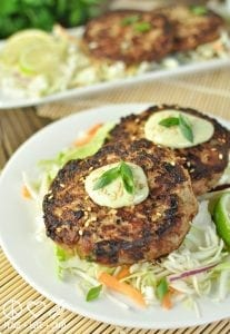 Asian Tuna Cakes - Low Carb | Peace Love and Low Carb