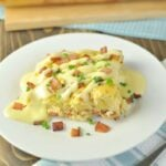 Eggs Benedict Casserole - Low Carb, Gluten Free, Paleo | Peace Love and Low Carb