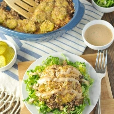 Big Mac Casserole – Low Carb, Gluten Free