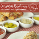 These Keto Everything Bagel Dogs are low carb, gluten free, and have all of the flavors of the original, without the carbs.