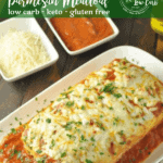 This Stuffed Chicken Parmesan Keto Meatloaf is rich, cheesy, keto comfort food, sure to become a new favorite for everyone. Lasagna and chicken parm in one!