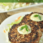 These Asian Tuna Cakes are bursting with flavor from ginger, garlic, red pepper flakes, and coconut aminos. They're easy to put together and completely paleo and Whole30 compliant.
