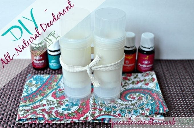 DIY - All Natural Non-Toxic Essential Oil Deodorant Recipe | Peace Love and Essential Oils