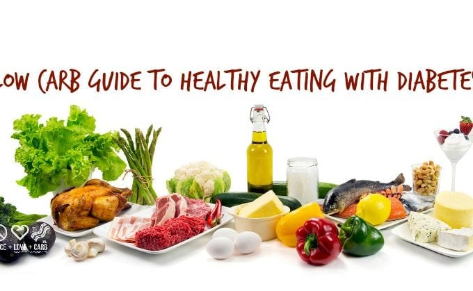 Low Carb Guide To Healthy Eating With Diabetes Peace Love And Low Carb