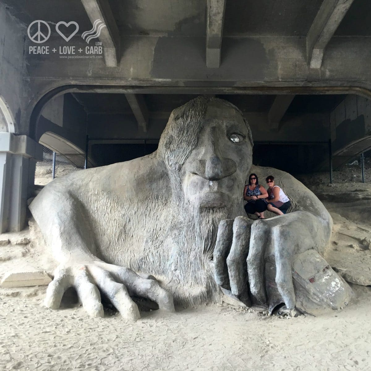 Fremont Troll - Seattle | Peace Love and Low Carb