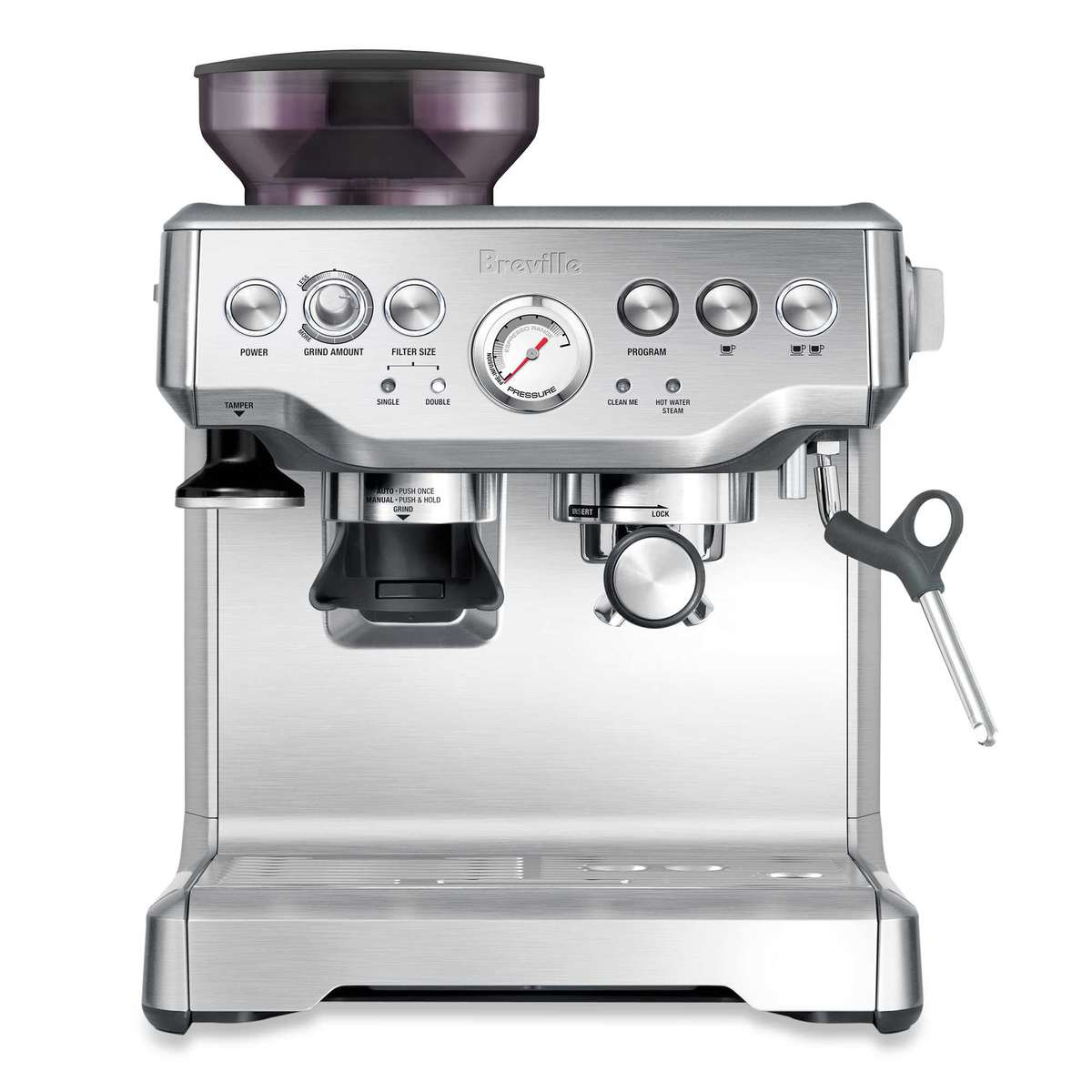 Breville® The Barista Express™ BES870XL Espresso Machine in Stainless Steel | Peace Love and Low Carb