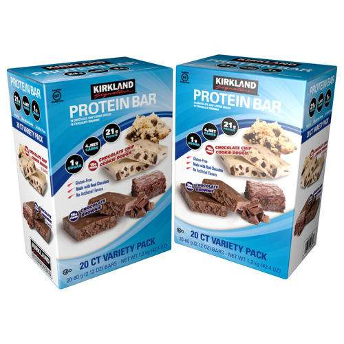 Kirkland Signature Protein Bars | Peace Love and Low Carb