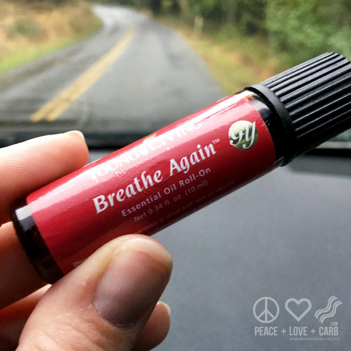 Breathe Again Essential Oil Blend | Peace Love and Low Carb