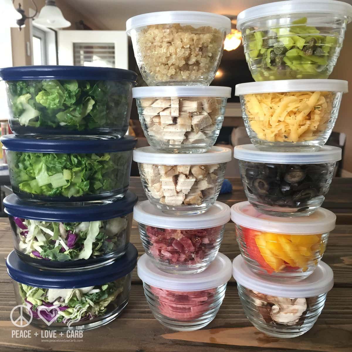 DIY Low Carb Salad Bar Fixings | Peace Love and Low Carb