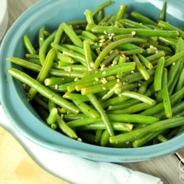 Lemon Pepper Green Beans - Low Carb, Paleo | Peace Love and Low Carb