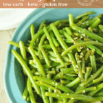 Lemon Pepper Green Beans: fresh green beans, cooked to perfection with a bit of crunch, served with a perfectly seasoned, buttery lemon pepper sauce.
