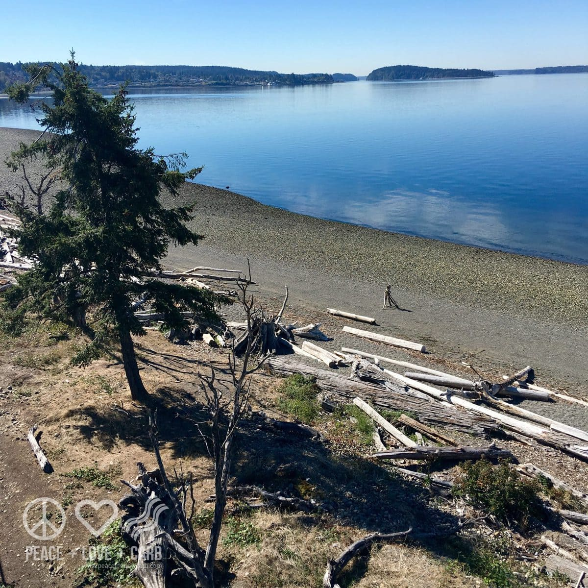 Walking Chambers Bay, WA | Peace Love and Low Carb