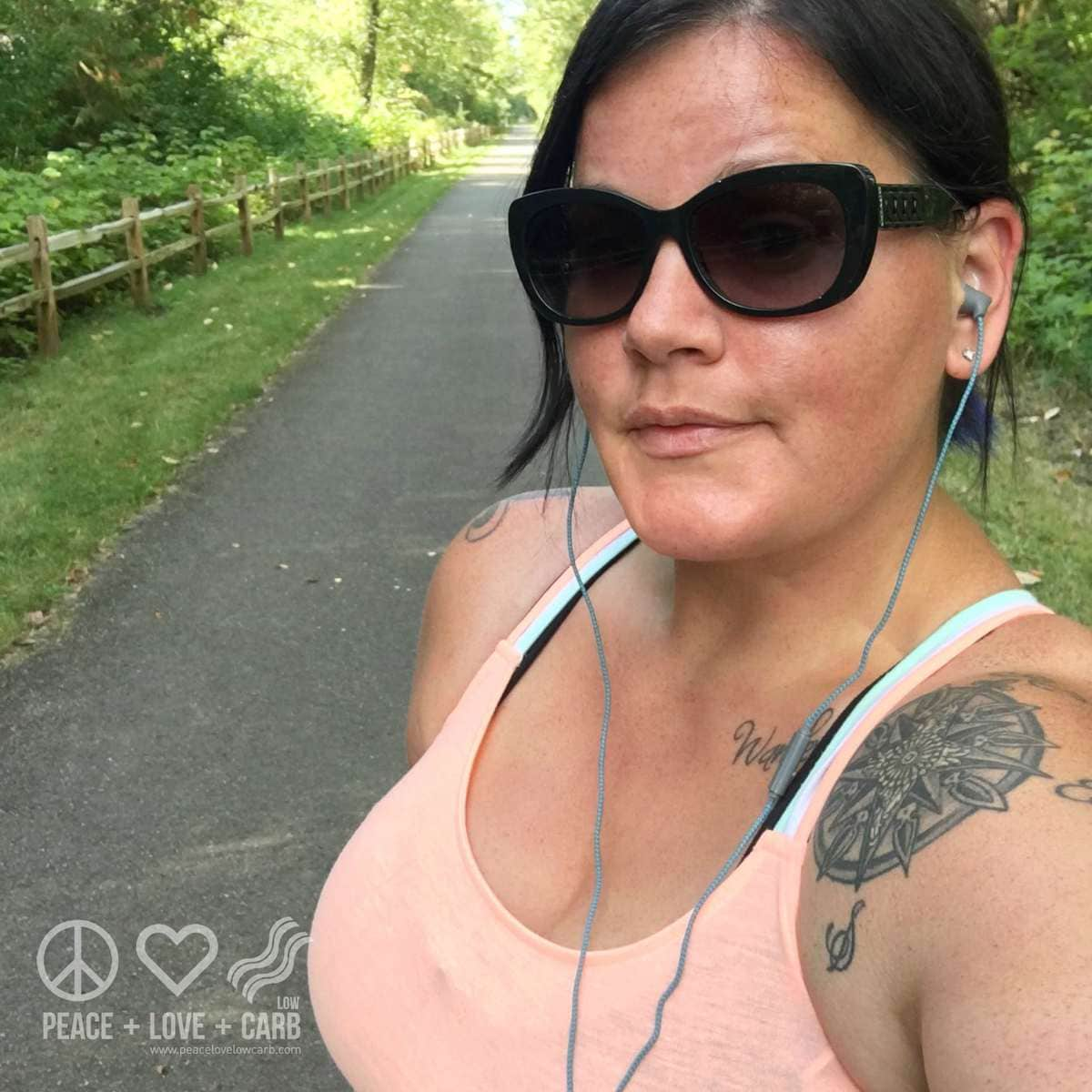 Walking the Foothills Trail | Peace Love and Low Carb