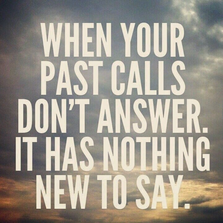 When Your Past Calls, Don't Answer! | Peace Love and Low Carb