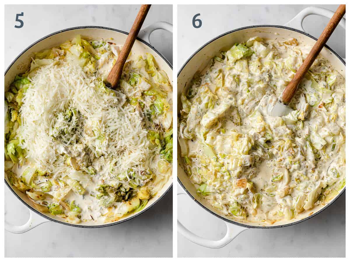 Step by step instructions for making homemade low carb tuna casserole