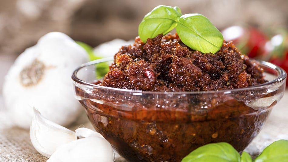 Cranberry Sauce Pesto