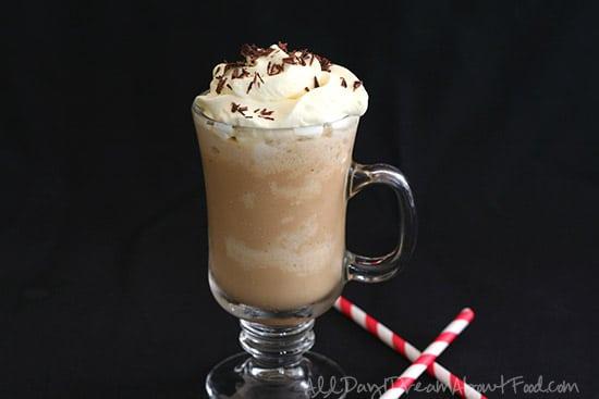 Low Carb Starbucks Copycat Caramel Frappucino