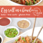 Egg Roll in a Bowl | Peace Love and Low Carb
