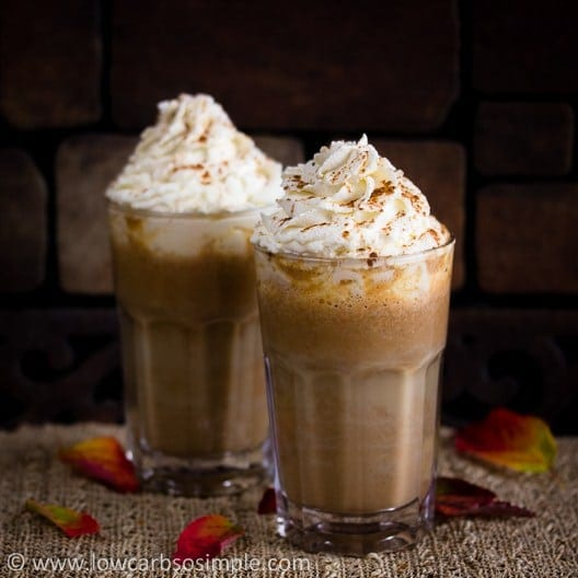 Low Carb Starbucks Copycat Pumpkin Spice Latte