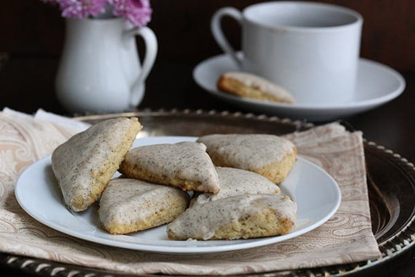 Low Carb Starbucks Copycat Mini Vanilla Bean Scones