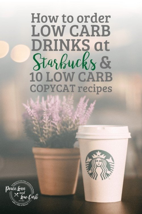 Have you ever stood in line, gazing at their menu board and feeling a little lost as to how to order low carb keto at Starbucks and still get something yummy? Well those days are over. This post will give you several options that will leave you feeling satisfied.