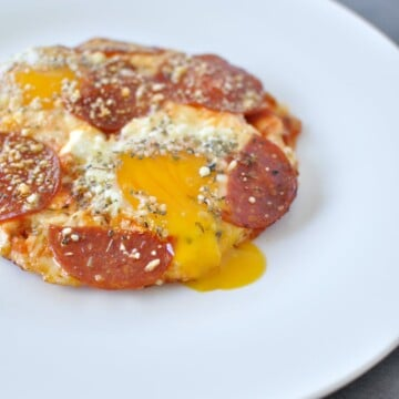 Pizza Eggs - Keto, Low Carb | Peace Love and Low Carb