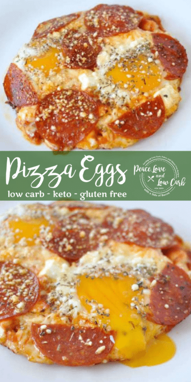 Once you've had these Pizza Eggs, you'll be instantly hooked. They put pizza on the table as a perfectly acceptable breakfast option.