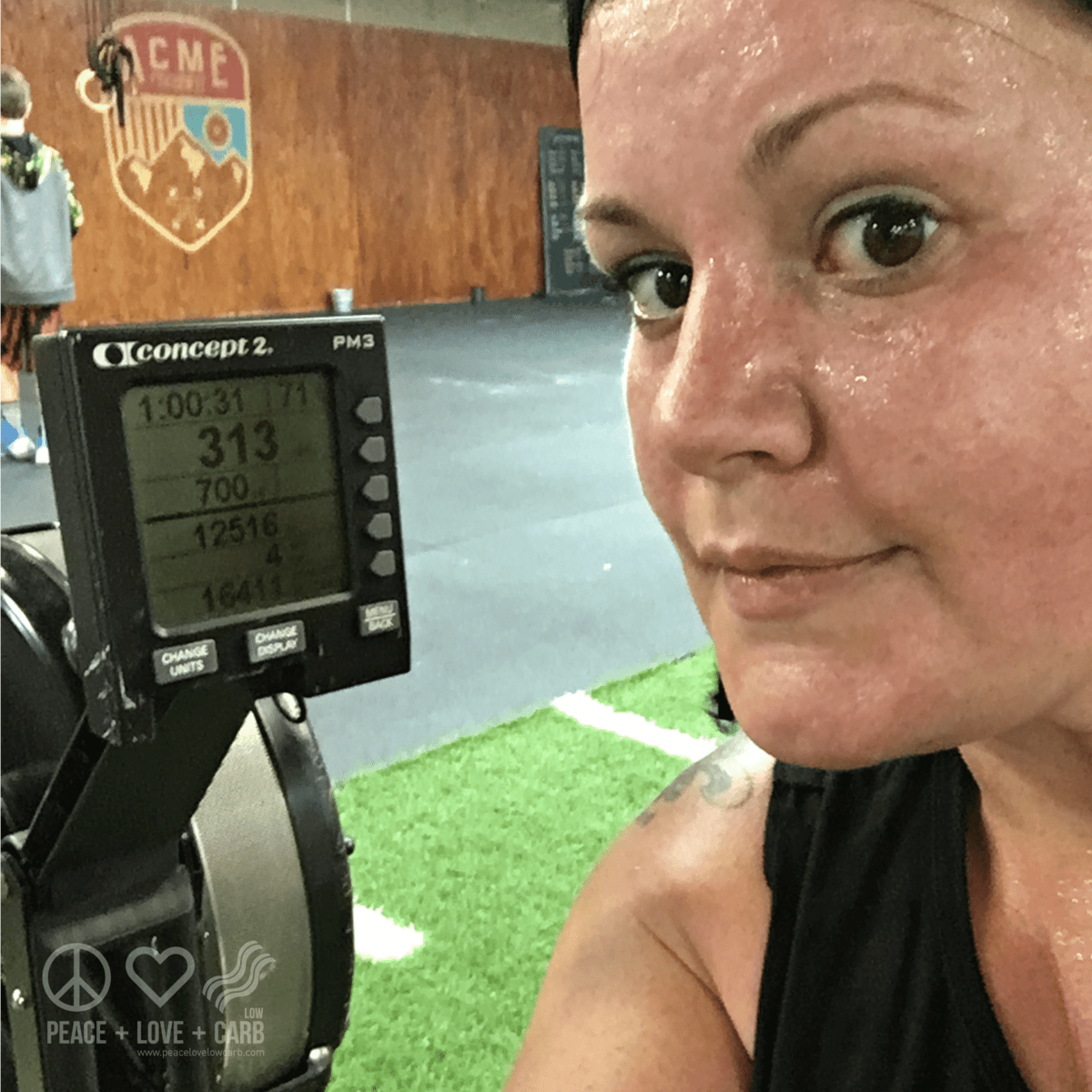 Rowing for Calories - Peace Love and Low Carb