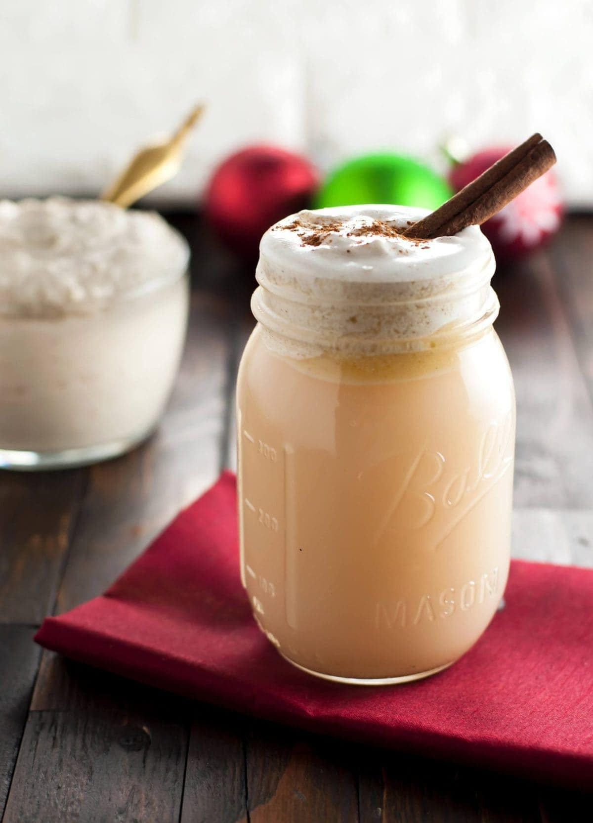 Keto Hot Buttered Rum Mix - Low Carb, Gluten Free