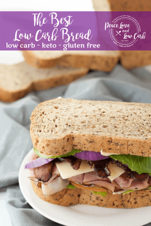 Hands down, the best low carb bread you will ever eat! Just like the real thing, but without all the carbs.