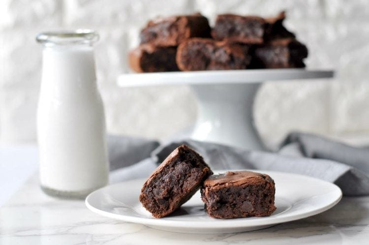Low Carb Fudgy Double Chocolate Brownies - Gluten Free