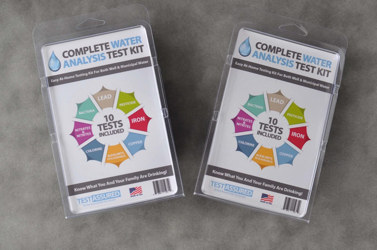 At Home Water Testing Kits - Results and a Giveaway!